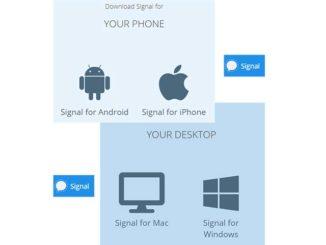 download dan install signal