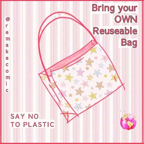 diet plastik dari rumah bisa dimulai dengan membawa kantong belanja bukan sekali pakai saat ke supermarket