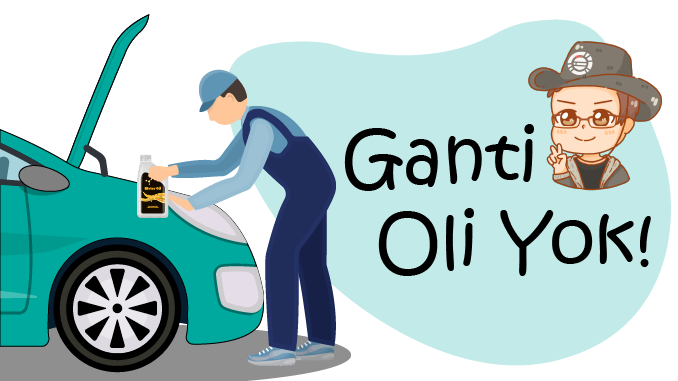 ganti oli mesin kendaraan di bengkel terpercaya pada waktu yang tepat