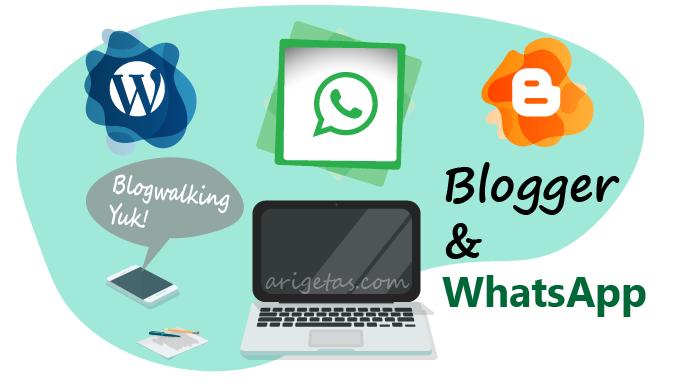 Cerita group WhatsApp Blogger wordpress dan blogspot itu asik dan kaya akan ilmu