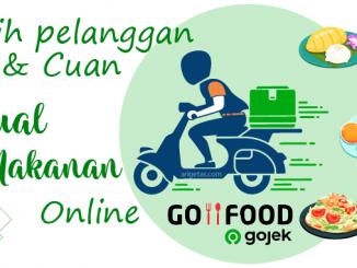 jual makanan online via GoFood dari aplikasi Gojek