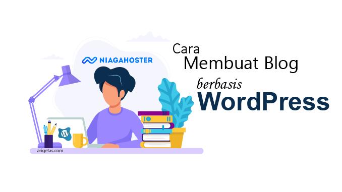 cara membuat blog berbasis wordpress untuk pemula dimulai dari memilih domain, menyewa hosting, install cms wordpress dan pasang SSL