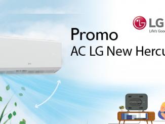 Promo AC LG New Hercules yang cepat dingin dengan turbo cooling dan banyak fitur hemat bertenaga