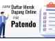 cara daftar merek dagang online via patendo
